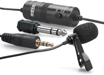 تصویر میکروفون یقه ای BOYA BY-M1 PRO Microphone BOYA BY-M1 Pro